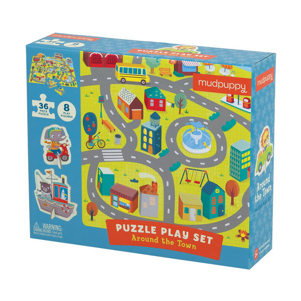 AROUND THE TOWN PUZZLE PLAY SET
