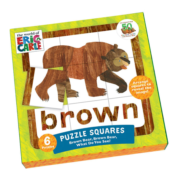 THE WORLD OF ERIC CARLE (™) PUZZLE SQUARES