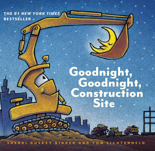GOODNIGHT, GOODNIGHT, CONSTRUCTION SITE - BOARD BOOK
