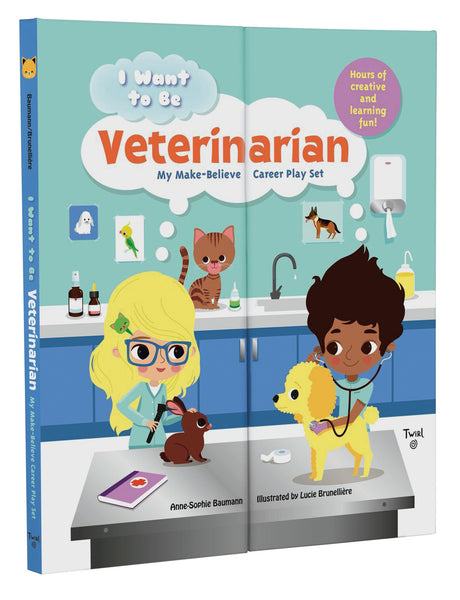 I WANT TO BE: VETERINARIAN   MY MAKE-BELIEVE CAREER PLAY SET