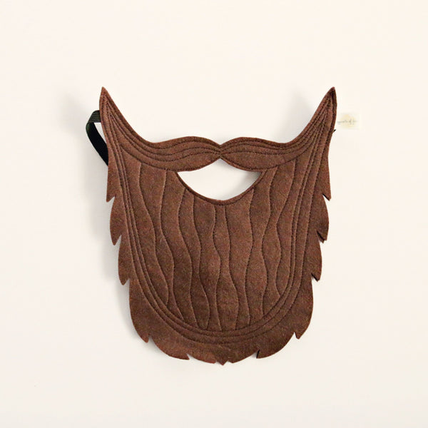 BROWN BEARD MASK