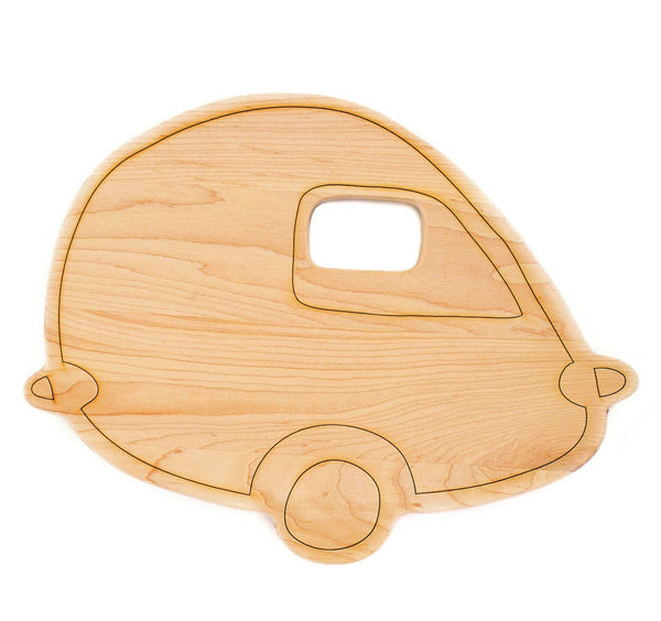 VINTAGE CAMPER CUTTING BOARD