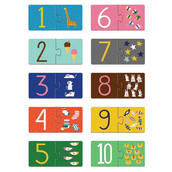 COUNTING 1-10 MY FIRST PUZZLE PAIRS