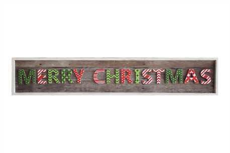 """MERRY CHRISTMAS"" WALL DECOR"