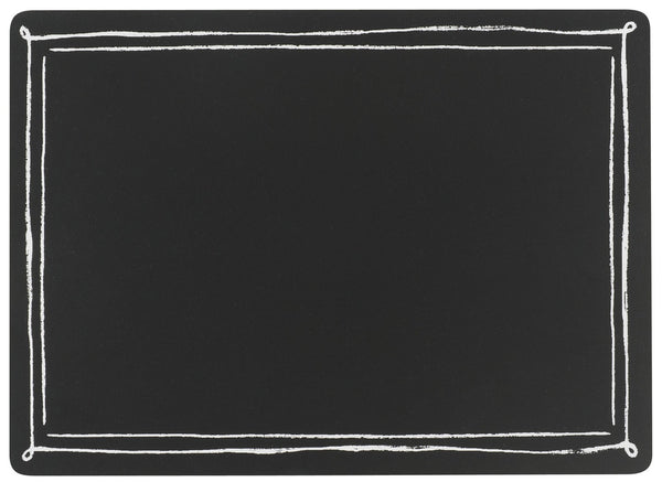 BLACKBOARD CORK-BACKED PLACEMATS - SET OF 4