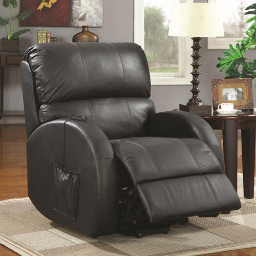 Leather Lifting Frequency Massage Recliner