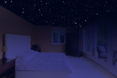 Glow In The Dark Stars - 400 5-Pointed Self Adhesive Stars!