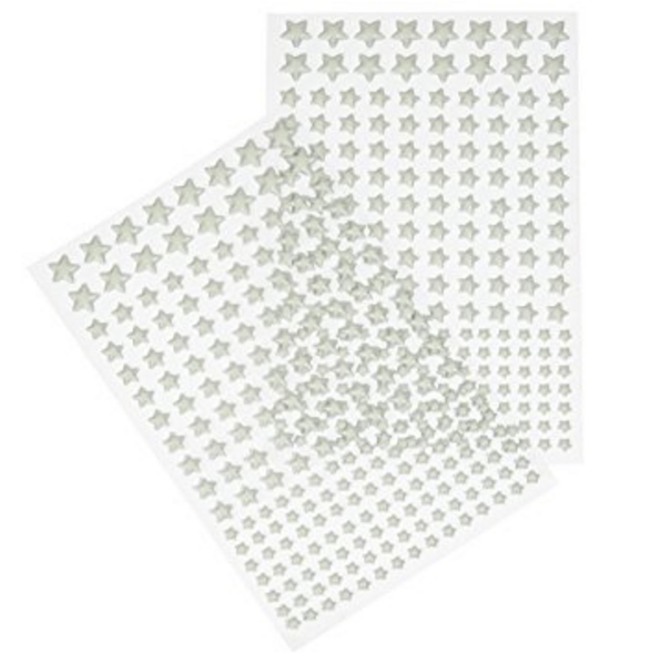 Glow In The Dark Stars - 400 5 Pointed Self Adhesive Stars! - FireflyGlo