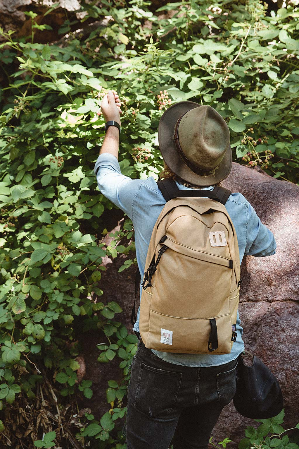 topo designs daypack hiking