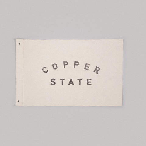 copper state canvas flag