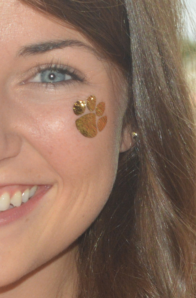 Create Your Own Variety Pack of Tiger Paw Inspired Temporary Tattoos ...