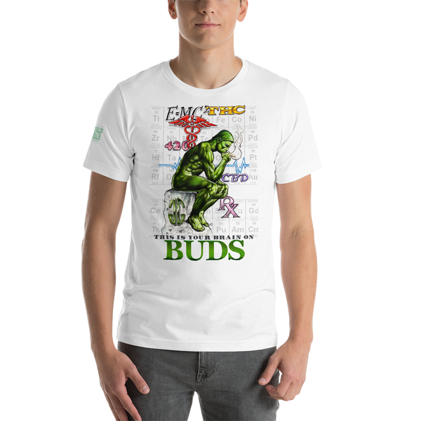 Brain On Buds Unisex T-Shirt