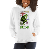 Brain on Buds  Pull Over Hoodie Sweatshirt (Unisex)