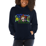 Cannabis Capital Pull Over Hoodie Sweatshirt (Unisex)