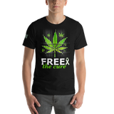 "Free The Cure ""Bars"" Men's T-Shirt"