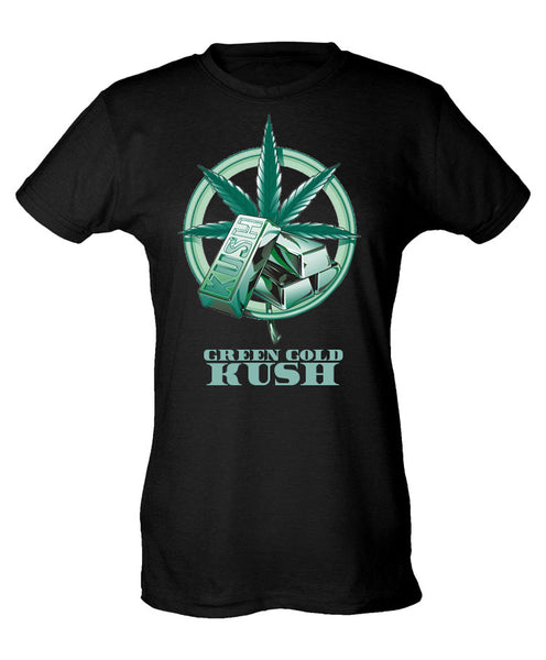 Green Gold Kush Logo Shirt