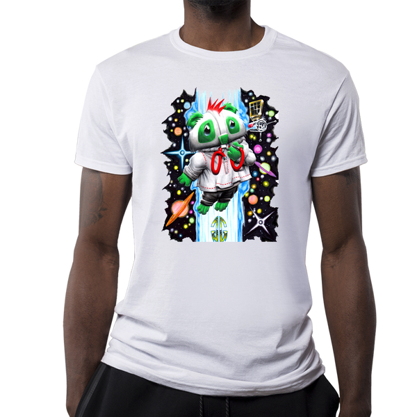 Outer Space Bear Men's T-Shirt