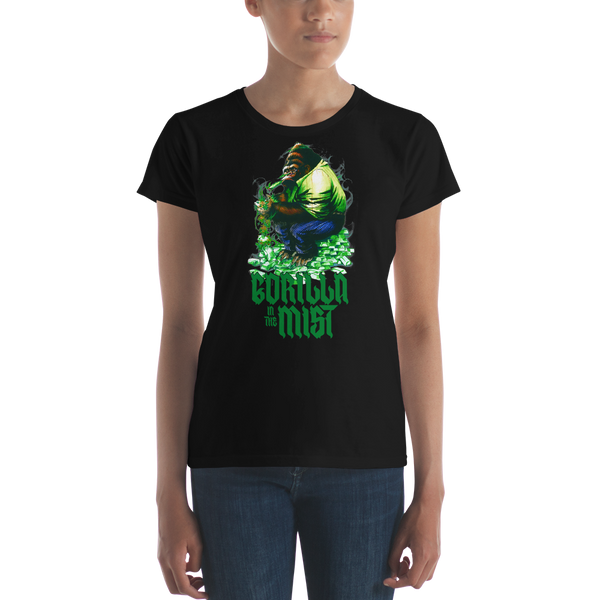Gorilla In The Mist Women's T-Shirt