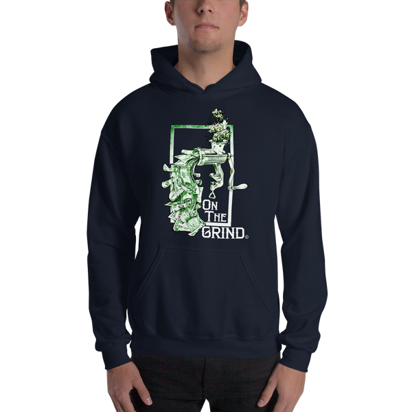 On The Grind Pull Over Hoodie Sweatshirt