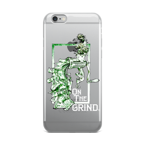 On The Grind iPhone Case