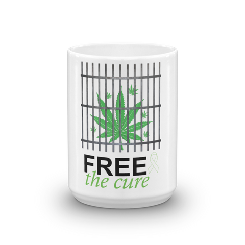 "Free The Cure ""Bars"" Mug"