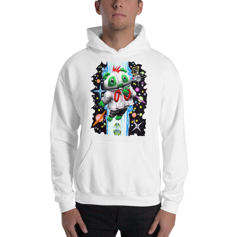Outer Space Bear Hooded Sweatshirt