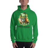 Gimme Me Green Gold Pull Over Hoodie Sweatshirt
