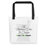 Can't Be Denied Tote bag