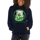 Legal Tender Pull Over Hoodie Sweatshirt (Unisex)