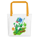 Flag Bear Tote bag