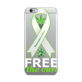 Free The Cure iPhone Case