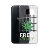 "Free The Cure ""Bars"" Samsung Case"