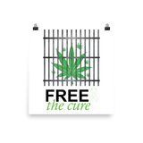 "Free The Cure ""Bars"" Art Prints"