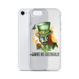 Gimme Me Green Gold iPhone Case