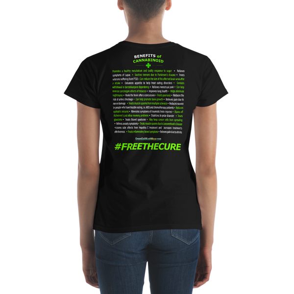 Free The Cure Women's T-shirt