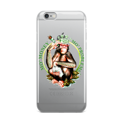 Mo' Money, Mo Problems iPhone Case