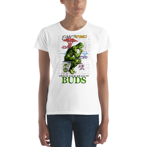 Brain on Buds women's T-Shirt