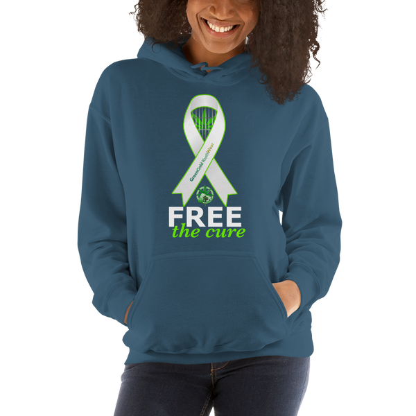 Free The Cure Pull Over Hoodie Sweatshirt (Unisex)