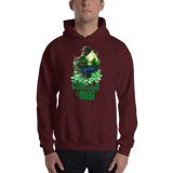 Gorilla In The Mist Pull Over Hoodie Sweatshirt (Unisex)