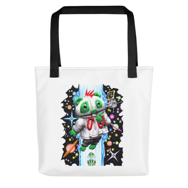 Outer Space Bear Tote bag