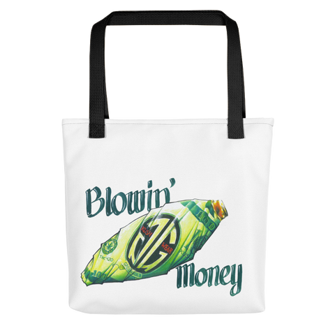 Blowin' Money Tote bag