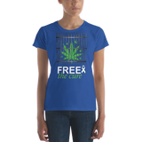 "Free The Cure ""Bars"" Women's Men's T-Shirt"