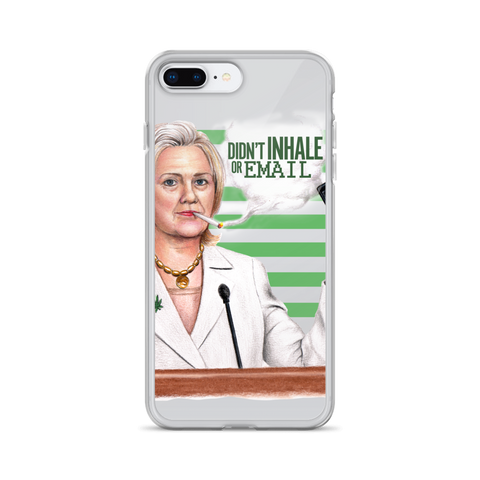 DIdn't Inhale or Email iPhone Case
