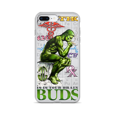 Brain on Buds iPhone Case
