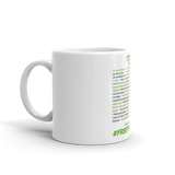 Benefits Of Cannabinoids (Free The Cure) Mug