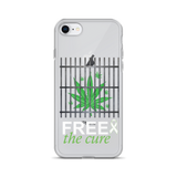 "Free The Cure ""Bars"" iPhone Case"