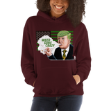 Weed Gone Crazy Pull Over Hoodie Sweatshirt (Unisex)