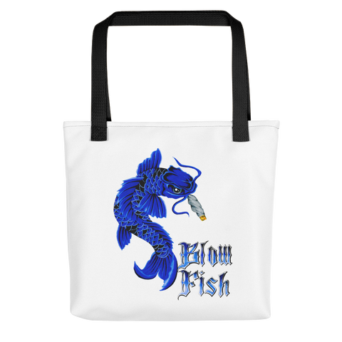 Blow Fish Tote Bag
