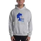 Blow Fish Pull Over Hoodie Sweatshirt