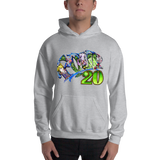 Four20 Pull Over Hoodie Sweatshirt